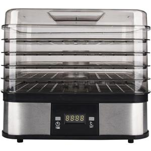 Ecohouzng Black Stainless Steel Food Dehydrator