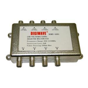 Digiwave 4 Input 4 Output Satellite Switch