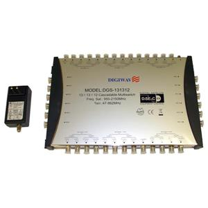 Digiwave 13/12 Cascadable Multiswitch
