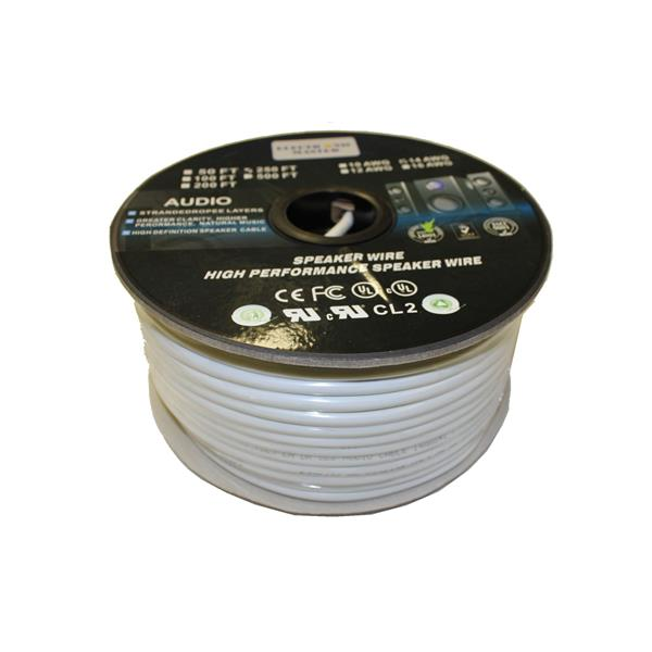 ElectronicMaster 250-ft 16 AWG 4 Wire Speaker Cable