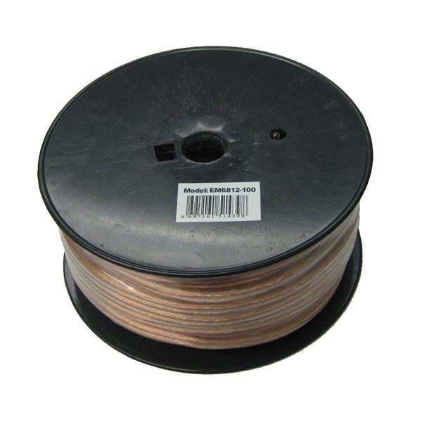 Câble de haut-parleur 2 fils, 12 AWG