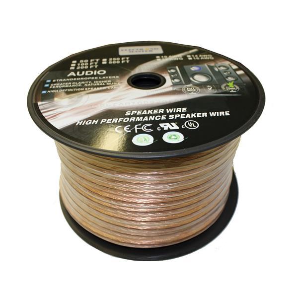 electronicmaster 200 ft 12 awg 2 wire speaker cable em6812200 rona. Black Bedroom Furniture Sets. Home Design Ideas