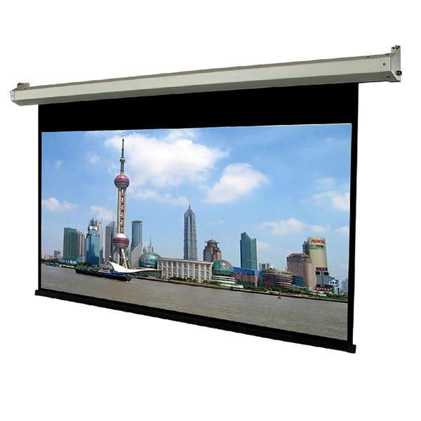 TygerClaw 84-in White Motorized Projector Screen
