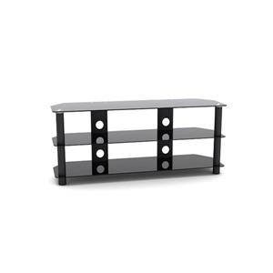 """Meuble pour téléviseur et composantes TygerClaw, 35,4"""", noir"""