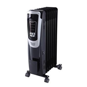 Ecohouzng Numeric Black Heater with Remote