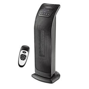Ecohouzng 23-in Black Oscillating Tower Heater