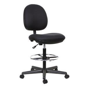 """Chaise de bureau TygerClaw, 21,26"""" x 27,5"""", noir"""