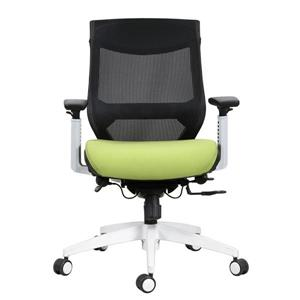 TygerClaw 20.5-in x 21.5-in Green Office Chair