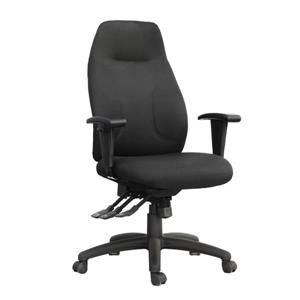 TygerClaw 19.29-in x 21-in Black Mesh Office Chair