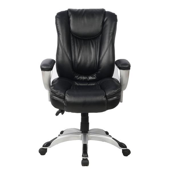 """Chaise de bureau TygerClaw, 20,08"""" x 21,5"""", noir"""