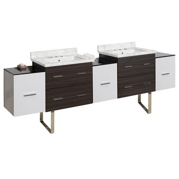 "Ensemble de meuble-lavabo, 90"", multi"