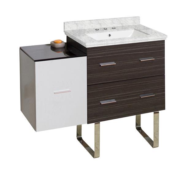 "Ensemble de meuble-lavabo, 37,75"", multi"
