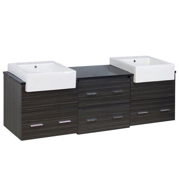 "Ensemble de meuble-lavabo, 73,5"", multi"
