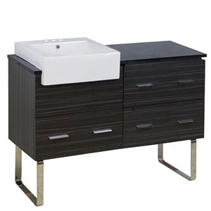 "Ensemble de meuble-lavabo, 48,75"", multi"