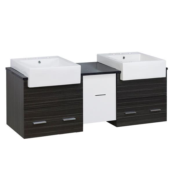"Ensemble de meuble-lavabo, 59,5"", multi"