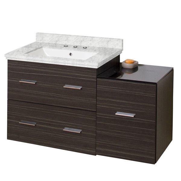 """Ensemble de meuble-lavabo, 37,75"""", gris"""