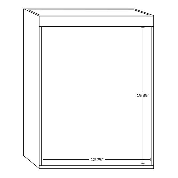 """Base de meuble-lavabo, 50,75"""", blanc/charbon"""