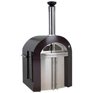 Forno Venetzia Bellagio 500 44-in Copper Outdoor Wood-Fired Pizza Oven