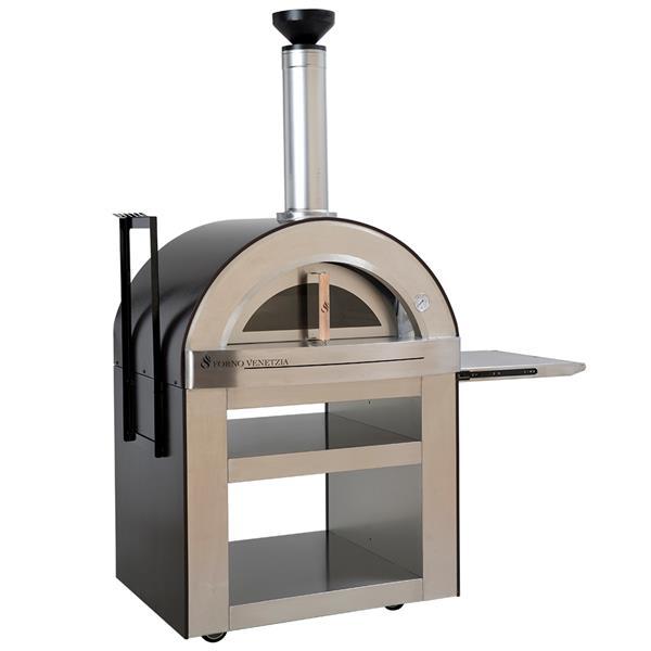 Forno Venetzia Torino 500 Copper 62-in Outdoor Wood-Fired Pizza Oven