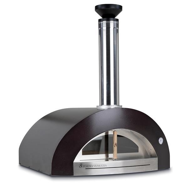 Forno Venetzia Bellagio 200 44-in Copper Countertop Outdoor Wood-Fired Pizza Oven