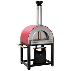 Pronto 300 Outdoor Wood-Fired Pizza Oven - - Red - 37