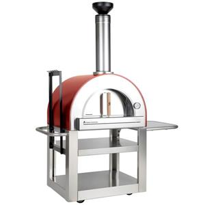 Pronto 500 Outdoor Wood-Fired Pizza Oven - Red - 33