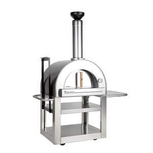 Forno Venetzia Pronto 500 Stainless Steel 33-in Outdoor Wood-Fired Pizza Oven