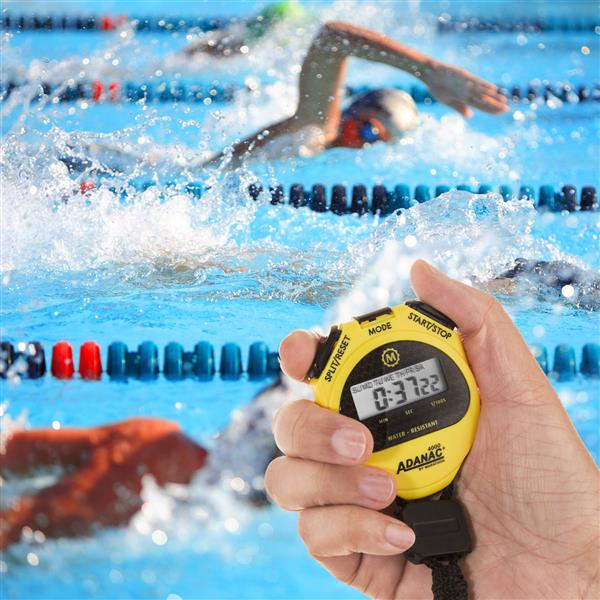 Chronomètre Marathon, jaune