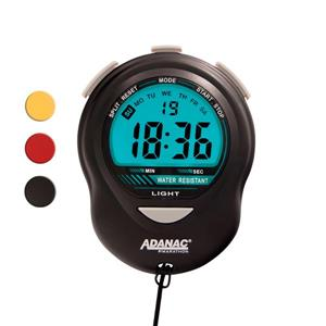 Marathon Black Stopwatch Timer