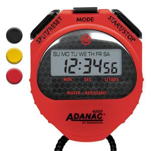Marathon Red Square Stopwatch Timer