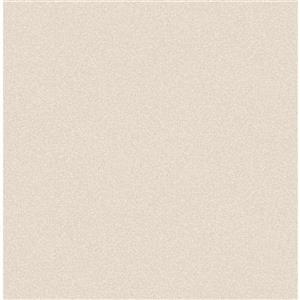 Papier peint texturé scintillant, beige