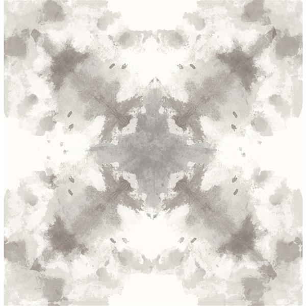 A-Street Prints Taupe Mysterious Abstract Non-Woven Unpasted Wallpaper