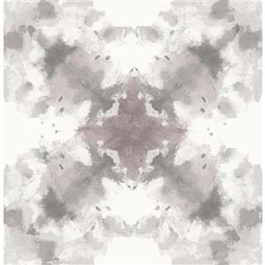 A-Street Prints Gray Mysterious Abstract Non-Woven Unpasted Wallpaper