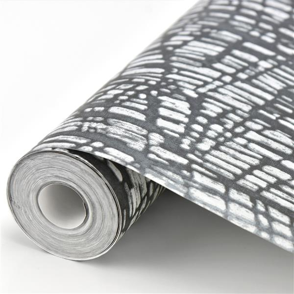 Papier peint texture abstraite chatoyan, gris