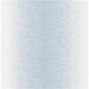 A-Street Prints Stardust Light Blue Ombre Unpasted Wallpaper