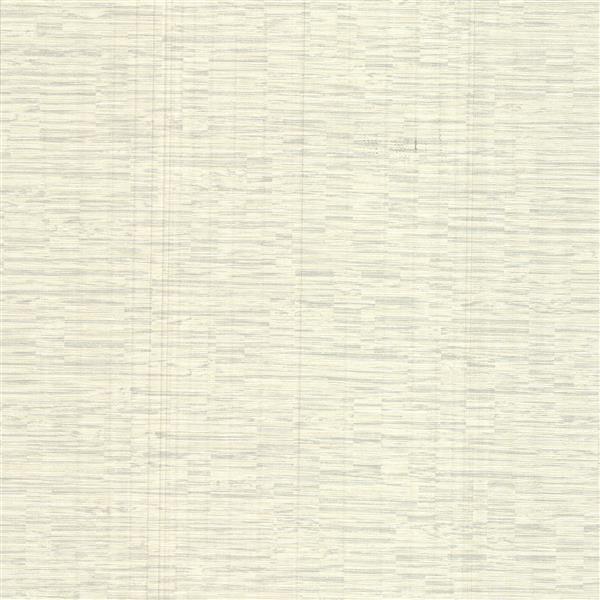 Brewster Wallcovering Pembrooke Off-White Stripe Wallpaper