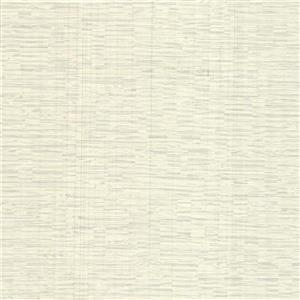 Brewster Wallcovering Pembrooke Off-White Stripe Wallpaper