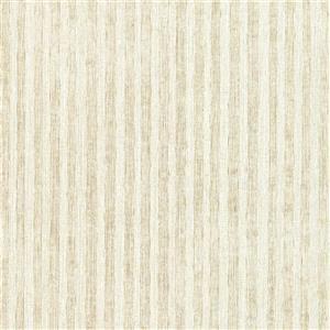 Papier peint à rayures Pemberly, neutre