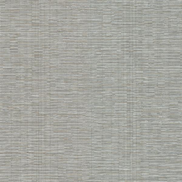 Brewster Wallcovering Pembrooke Grey Stripe Wallpaper