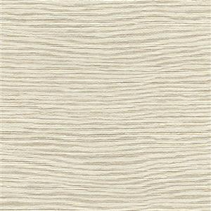 Mabe Faux Grasscloth Wallpaper - Off-White
