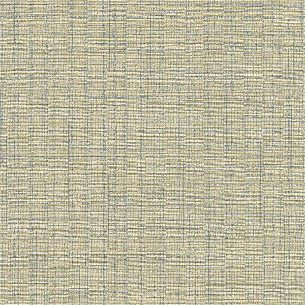 Brewster Wallcovering Solitaire II Tweed Wallpaper - Gold