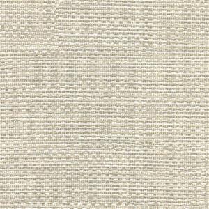Bohemian Bling Basketweave Wallpaper - Off-White