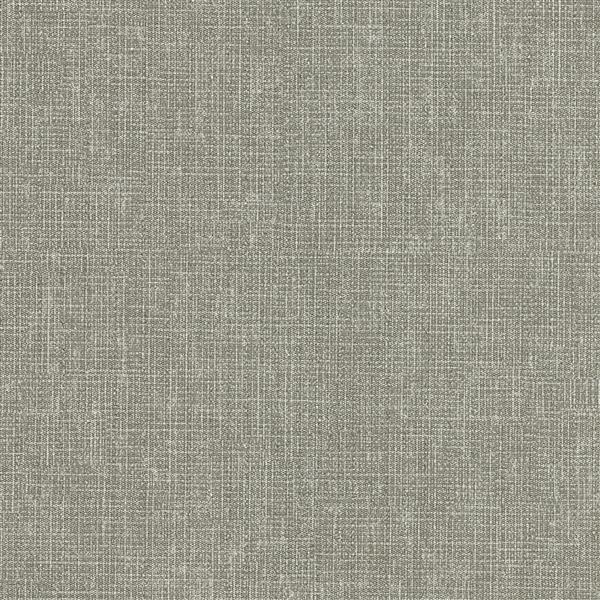Papier peint Texture lin gabardine, gris