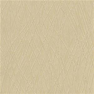 Brewster Wallcovering Allegro Embossed 60 sq ft Gold Wallpaper