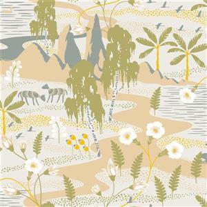 Papier peint Magisk Oasis, beige