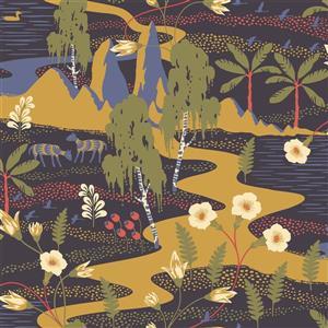 Papier peint Magisk Oasis, belu marine