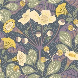 Tropisk Floral Wallpaper - Multi