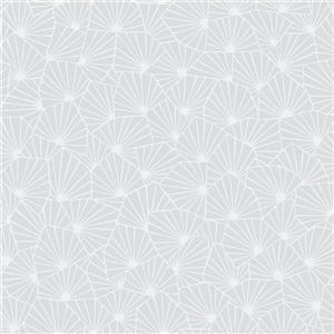 Blomma Geometric Wallpaper - Dove