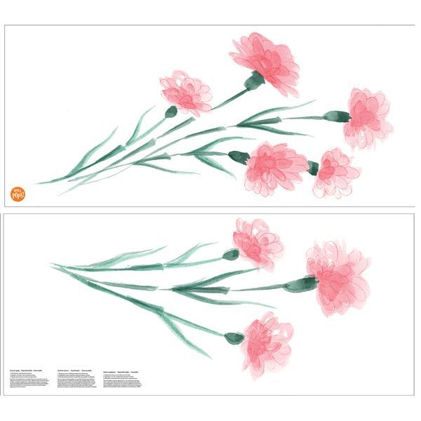 WallPops What in Carnation! Wall Art Kit