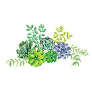 Desert Flower Wall Art Kit